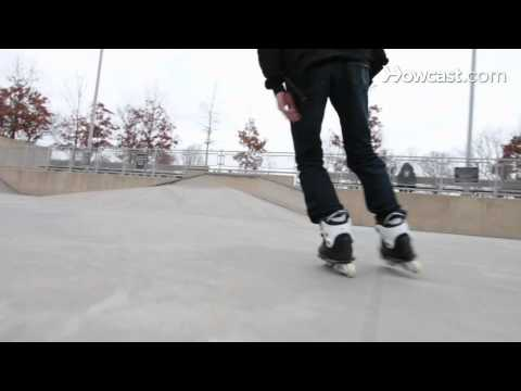 Rollerblading Basics: How to do a Step Over or Cross Over Turn on Rollerblades