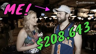How I Turned $400 into $208,000 Pt.2 (Gambling Vlog #55) 2019 WSOP