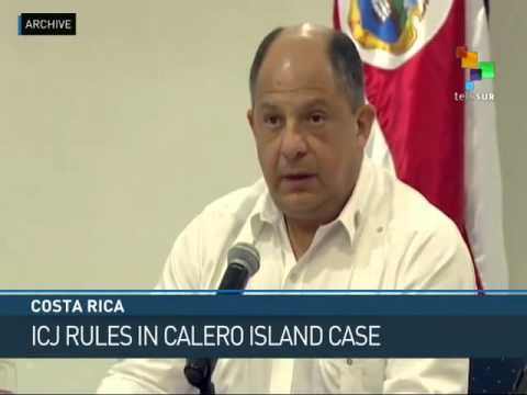Int'l Court Rules for Costa Rica in Territorial Dispute with Nicaragua