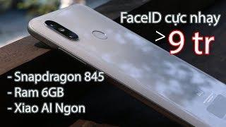 Mở hộp, đánh giá nhanh Xiaomi Mi8: Cực đẹp, Cực ngon, Cực rẻ