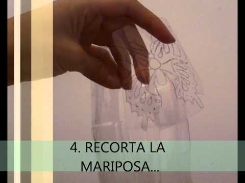 MARIPOSA RECICLABLE