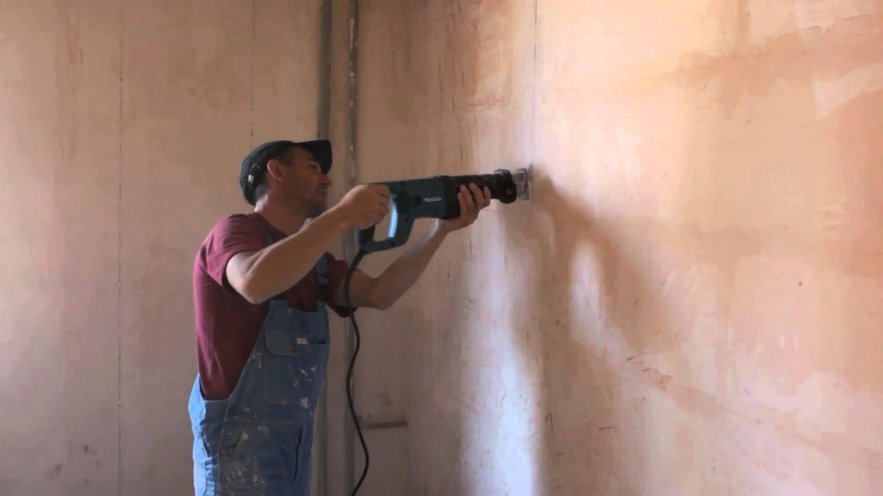 Как сделать проем в стене из пенобетона
