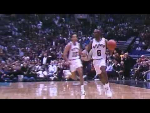 David Robinson and Clyde Drexler Highlight the Top 10 Plays of the Week-March 4, 1995