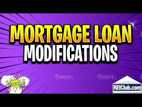Mortgage Loan Modification - How Do Mortgage Loan Modifications Work?