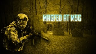 MSG Paintball Magfed gameplay w/ custom HUD - 1st video