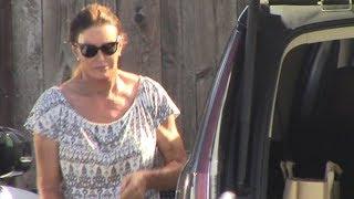 Caitlyn Jenner Rocking A Ponytail For Malibu Shopping