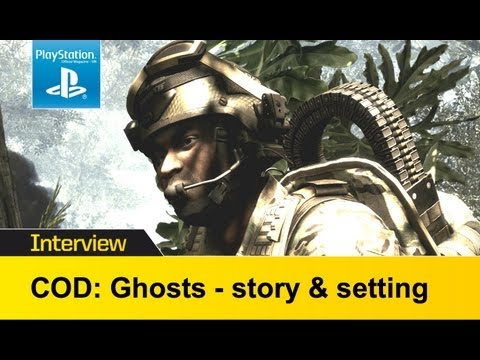 Call Of Duty Ghosts video interview - Infinity Ward explain the story