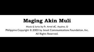 Maging Akin Muli Instrumental by Arnel dC. Aquino, SJ