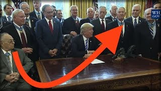 RIGHT AFTER HEALTH CARE FAILED, DONALD TRUMP MET WITH SOME UNBELIEVABLE GUESTS!