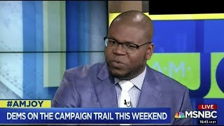 Dr. Jason Johnson on #2020 Presidential Candidates for the Democratic Party #AMJoy