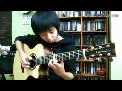 Thần đồng Guitar--- (Big Bang) 하루하루(Haru Haru) - Sungha Jung