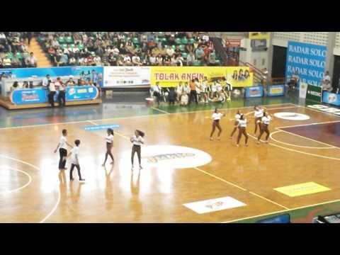 SMP N 1 Surakarta Modern Dance on JRBL 2014