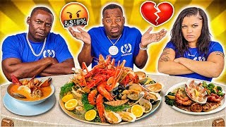 EXPOSING MY DAD & WIFE SECRET RELATIONSHIP 💔😭 (KING CRAB & SHRIMP SEAFOOD BOIL MUKBANG)