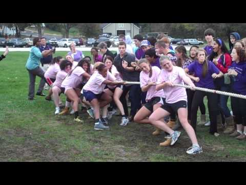 Spirit Week 2010 - Girls Tug of War Final (Juniors vs. Seniors)