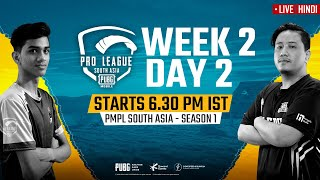 [Hindi] PMPL South Asia Day 2 W 2 | PUBG MOBILE Pro League S1