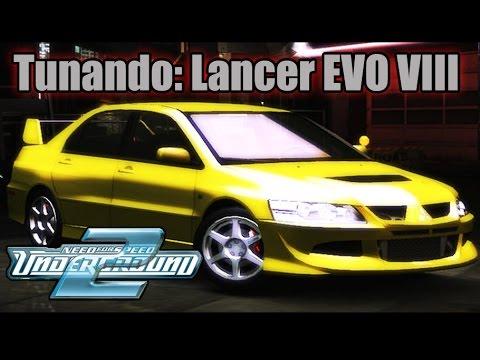 Tunando Lancer Evolution VIII
