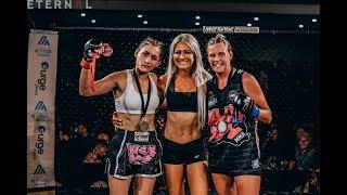 ETERNAL MMA 37- CORALIE KENNEDY VS HAYLEY HERBERT - WMMA AMATEUR FIGHT