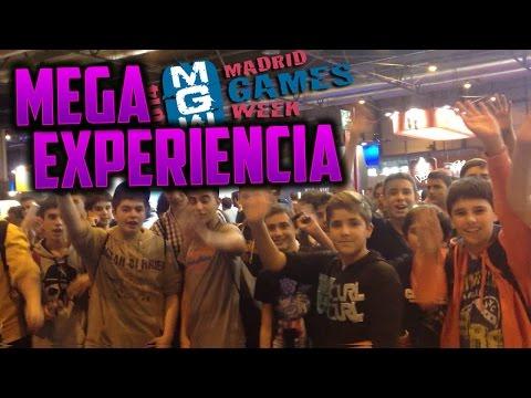 Mega Experiencia - Madrid Games Week 2014 - Fotos y más Fotos XD