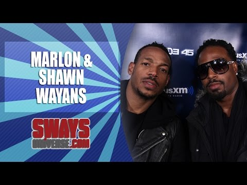 Wayans Brothers Roast: Chris Brown, Lil Wayne, Bill Cosby & Manny Pacquiao on Sway in the Morning