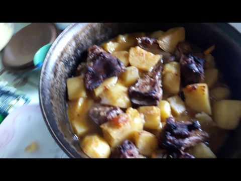 Картошка в русской печи рецепт