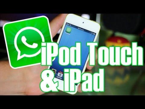 C�mo Instalar WhatsApp En iPod Touch 5g 4g & iPad 2 3 4 Mini En Espa�ol