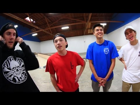 FETTY VS JUSTIN VS KELLY VS LUKE | TOURNAMENT SKATE