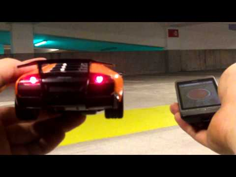 Android Controlled Car w/Lights