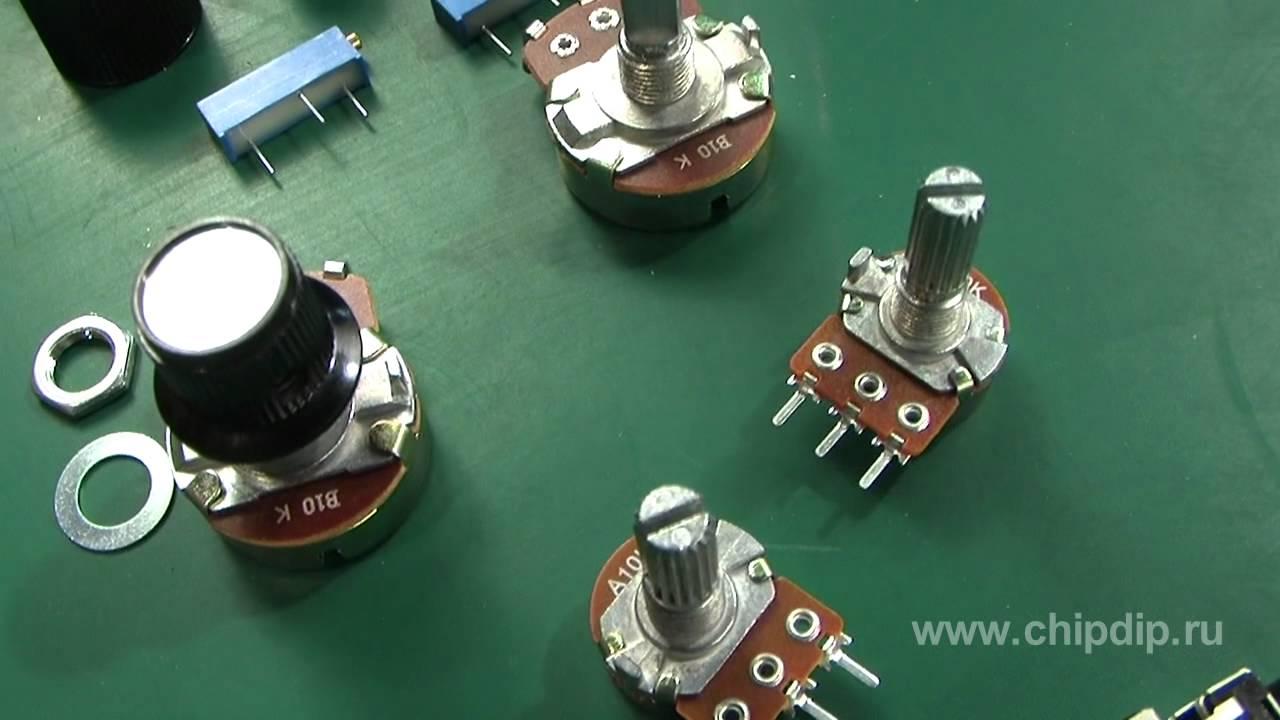 Как сделать ручку для переменного резистора