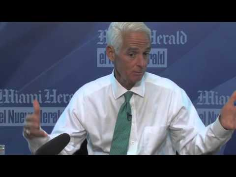 Charlie Crist's interview with the Miami Herald editorial board (Part One)