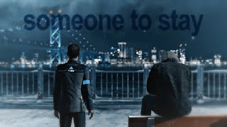 someone to stay || hank & connor [dbh]