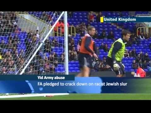 British PM David Cameron says 'Yid Army' football chants can be okay if not motivated by hate
