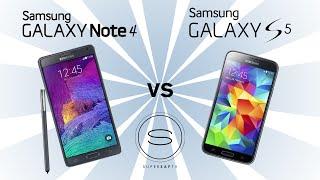 Samsung Galaxy Note 4 vs Samsung Galaxy S5 karşılaştırma