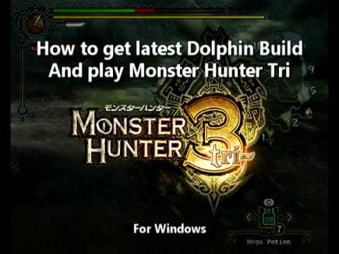How to installing Dolphin and configure for Monster Hunter 3/Tri