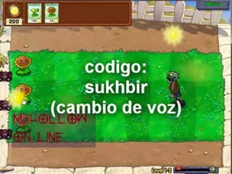 plants vs zombies codigos