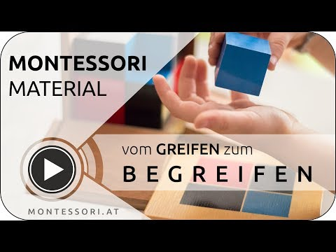 Montessori Material - vom Greifen zum Begreifen | MONTESSORI.AT