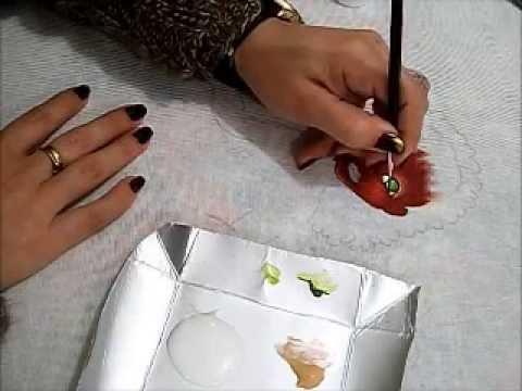 Pintura em tecido - Boneca Marli - Como pintar boneca negra 1/2 - how to paint b