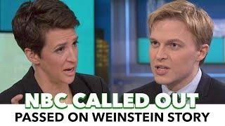 Rachel Maddow & Ronan Farrow Expose NBC On MSNBC