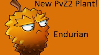 New Lost City Plant - Endurian - Plants Vs. Zombies 2: It