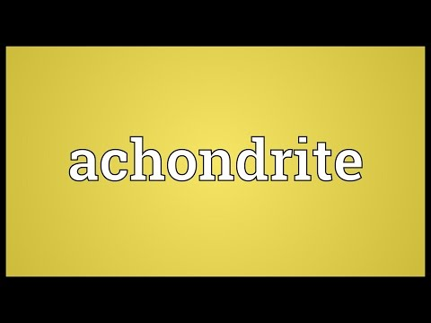 Header of achondrite