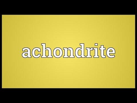 Header of achondrite