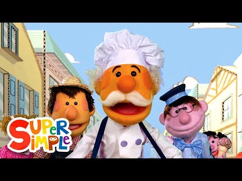 The Muffin Man | Kids Songs | Super Simple Songs