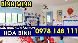 Trường Mầm Non Hòa Bình Peace School Hà Nội Mới Sơn -09781481111