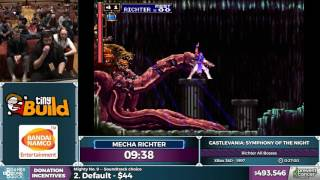 AGDQ 2017: SotN Richter Mode All Bosses (by MechaRichter)