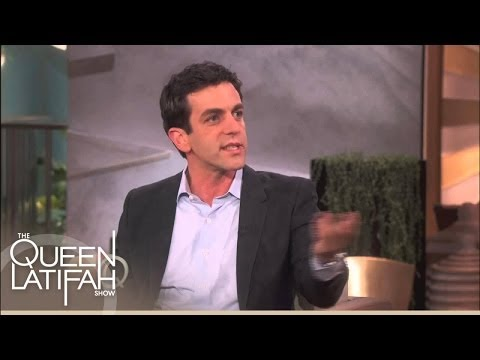 B.J. Novak On His Relationship With Mindy Kaling | The Queen Latifah Show