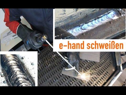 Elektrodenschweißen Schweißkurs Teil 2  - Grundlagen zum Elektrodenschweißen - lernen