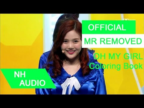 [MR Removed] 오마이걸 (OH MY GIRL) - 컬러링북 (Coloring Book)