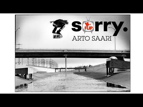 "ARTO SAARI in FLIP ""SORRY"" HQ"