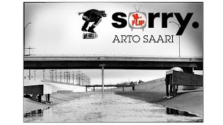 "ARTO SAARI in FLIP ""SORRY"" HQ"
