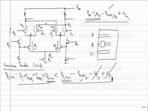 lecture6 - Current mode logic - Basic circuit design