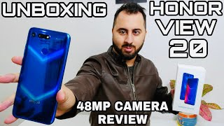 Honor View 20 Unboxing |Honor View 20 Camera Review, Gaming Review|
